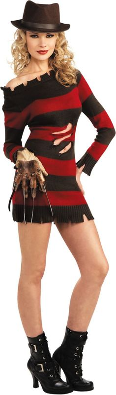 Nightmare on Elm Street Miss Kreuger Costume for Women - Party City| This is a medium costume, I'm making it my goal to fit it by Halloween 2014 :-))