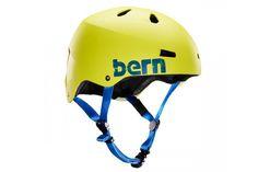 Bern Macon Helm - Neon Geel  Macon Helm:  Verkrijgbaar als helm met ABS shell en EPS hard foam.  EPS hard foam samen met ASTM F 2040 en EN 1077B standaards voor sneeuw en ski CPSC en EN 1078 standaards voor fiets en skate.  De Macon fietshelm brengt de skatestyle naar het dagelijkse straatbeeld.  Bern's All Season liner systeem staat je toe om de Macon te gebruiken tijdens snowboarden skieen of fietsen. ??  Goede ventilatie met 11 lucht openingen.  Verwijderbare en wasbare padding met…
