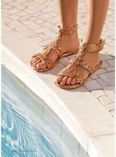 Campana Barroca Sandal | Melissa Shoes at NONNON.co.uk