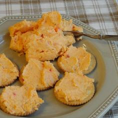 This is my mother's version of Pimiento Cheese Spread. Just serve with your favorite crackers. This can also be frozen ahead of time then thawed in the fridge the day before a holiday or picnic/cookout. Pimento Cheese Recipes, Pimiento Cheese, Cheddar Cheese, Appetizer Recipes, Snack Recipes, Cooking Recipes, Snacks, Party Appetizers, Sandwich Recipes