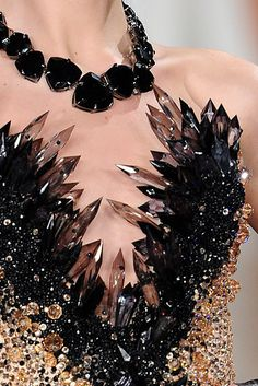 The Blonds crystal corset