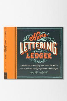 Hand-Lettering Ledger By Mary Kate McDevitt