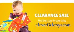 Buy the best or right gift for all age kids at shop toys by age wise and take advantage of the best fantastic selection of toys, outdoor toys and much more  games from Cleverfishtoys.com