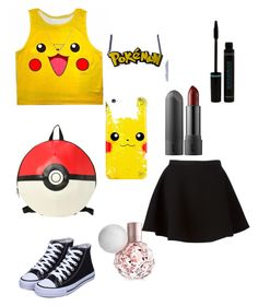 """""""Pokemon"""" by tiffanylcrowe on Polyvore featuring Neil Barrett and Banana Republic"""