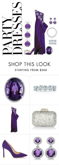 """""""Party Dresses VI"""" by meesh57 on Polyvore featuring Kwiat, Jimmy Choo and Allurez"""