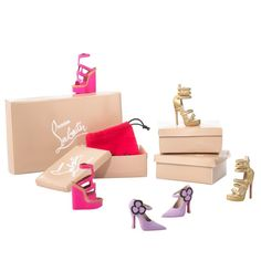 Dolly Forever Barbie® Doll by Christian Louboutin | Barbie Collector