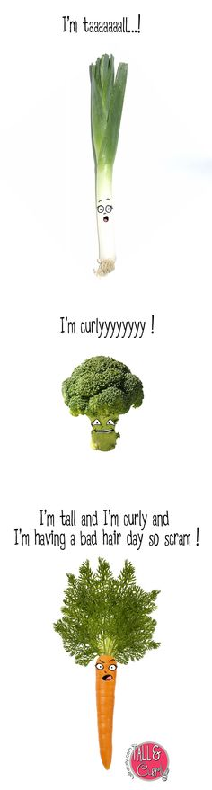 Tall N Curly - Vegetables