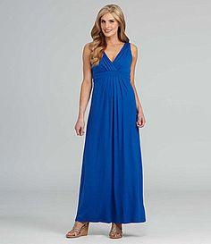 Karen Kane Sleeveless Jersey Maxi Dress | Dillards.com