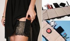 Time to ditch the clutch? Try the Sassy Stash garter belt instead