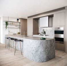 Modern Kitchen Interior 10 Design Commandments For Apartment Furniture Design Home Decor Kitchen, New Kitchen, Home Kitchens, Kitchen Dining, Kitchen Ideas, Kitchen Furniture, Small Kitchens, Kitchen Inspiration, Outdoor Furniture