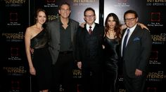 Amy Acker, Jim Caviezel, Michael Emerson, Sarah Shahi, and Kevin Chapman came together on the red carpet.
