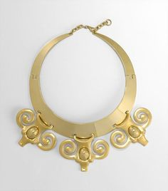 Perfect necklace for an Aries (or anyone who likes ram heads) from Tory Burch