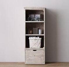Tribeca Storage Single Bookcase Set