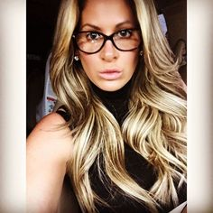 "@kimzolciakbiermann's photo: ""Thanks @shunmelson for getting my sexy frames for my much needed prescription lenses!! Yea it's that time  #ImCoolWithItCuzIGoMakeupFree  #FuckItIllPlaySchoolGirl """