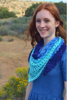 Wave Shawl—Free Crochet Pattern -