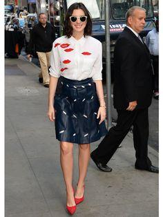 アン・ハサウェイ (Anne Hathaway)の私服