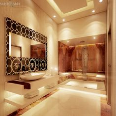 Royal Bathroom #Steambath #Royal #visionnaire #Furniture