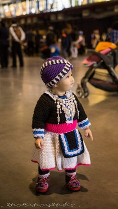 Crochet Hmong outfit