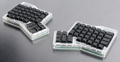The evolution and commercialization of the ErgoDox keyboard - http://trauring.org/the-evolution-and-commercialization-of-the-ergodox-keyboard/