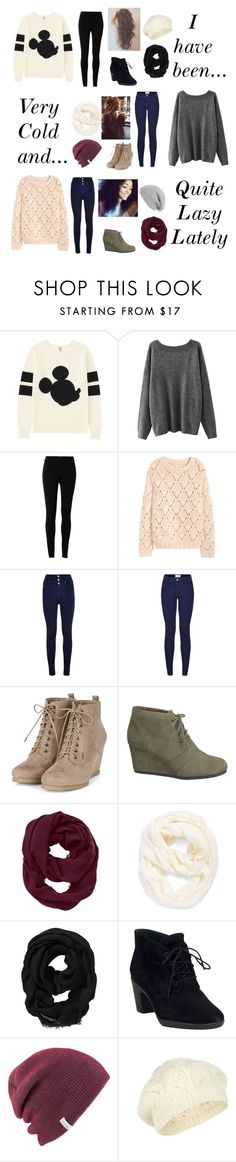 """""""Can anyone else relate?"""" by beautifulgresham ❤ liked on Polyvore featuring Uniqlo, Max Studio, H&M, maurices, Athleta, Echo, Old Navy, Clarks, Coal and Accessorize"""