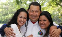 Hugo Chavez's daughters refuse to move out of presidential palace | Mail Online