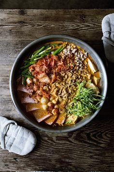 Homemade Instant Noodle Mix Series: Instant Cream Cheese Shin Ramyun/Budae Jjigae Mix