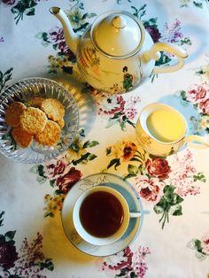 Um chá vintage…