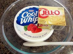 ingredients for cool whip fruit dip