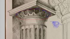 The Two Essential Things You Need To Know When Drawing Classical Orders Two By Two, Architecture, Drawings, Arquitetura, Sketches, Drawing, Architecture Illustrations, Portrait, Resim