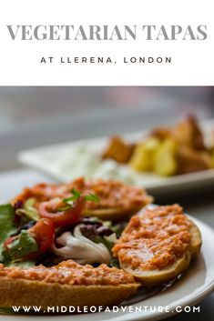 Vegetarian tapas in London: Llerena, Islington