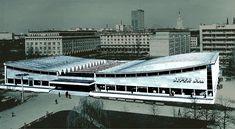 Supersam w Warszawie w roku 1969 r., czyli 7 lat po zbudowaniu i na 36 lat przed zburzeniem
