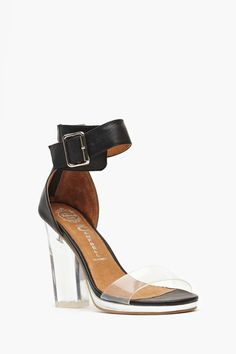Jeffrey Campbell Soiree Heel - Black
