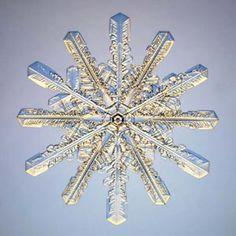 Snow crystal.