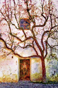 Wooden Doors, Oil Painting On Canvas, Architecture Art, Autumn Leaves, Fine Art America, Shelter, Art Gallery, Digital Art, Instagram Images