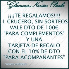 Te regalamos!! https://www.facebook.com/GlamourNoviasParla?ref=stream&hc_location=timeline
