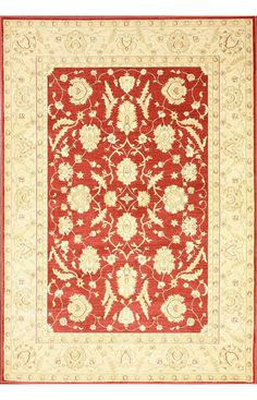 Rugs USA Treasures I Persian Oriental Style ZG02 Red Rug