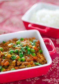 Keema Curry | Slimming Eats - Slimming World Recipes