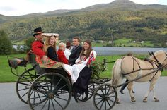 Wedding at Voss in Hordaland County