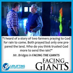 "from the movie ""Facing The Giants"""