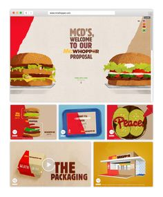 McWhopper | Burger King World Peace Day Press Advertising Direct Campaign | Award-winning Direct Integrated Campaigns | D&AD #yellowpencilwinner