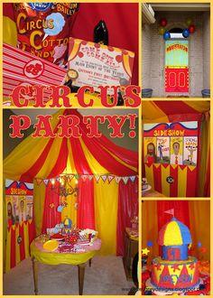 Circus theme party!