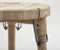 Furniture and wood shavings: Christian Juhl I