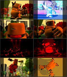 Burd Animation Project at Massey University-by Ra & Stu Thomas