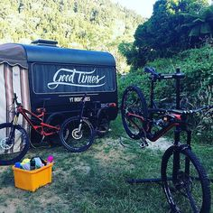 Man, YT New Zealand knows how to travel in style. That trailer rocks! #GoodTimes #Repost @dayzerobike ・・・ Trust you all had an epic Christmas and New Year For our crew it was camping and adventures in Rotorua. Don't hold back in 2017... bring it on !! #ytfamily #ytaustralia #ytnewzealand #31dic #yt #capra #ilovejeffsy #goodtimes #dontholdback