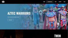 www.thepsychedelictheatre.com Aztec Warrior, Psychedelic, Design, Trippy