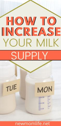 How to increase milk supply fast - If your breast milk supply is running low then look no further than these top breastfeeding tips. Learn how to boost your milk supply so you can carry on breastfeeding your baby without hassle. Breastfeeding Techniques, Breastfeeding Classes, Breastfeeding Positions, Breastfeeding Problems, Breastfeeding And Pumping, Baby Care Tips, Baby Tips, How To Breastfeed Newborns, Increase Milk Supply