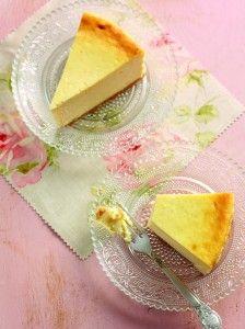 Baked Vanilla Cheesecake -Eric Lanlard's Easter Sunday Dessert