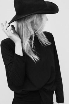 A wide brim hat is always a classic