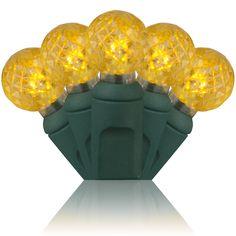 A fun shape and gorgeous golden glow - perfect for New Year's Eve & Christmas decorating!