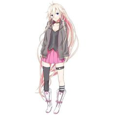 Anime Lady Characters ❤ liked on Polyvore featuring anime